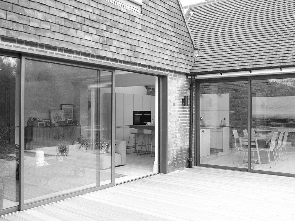 Open plan residential architect