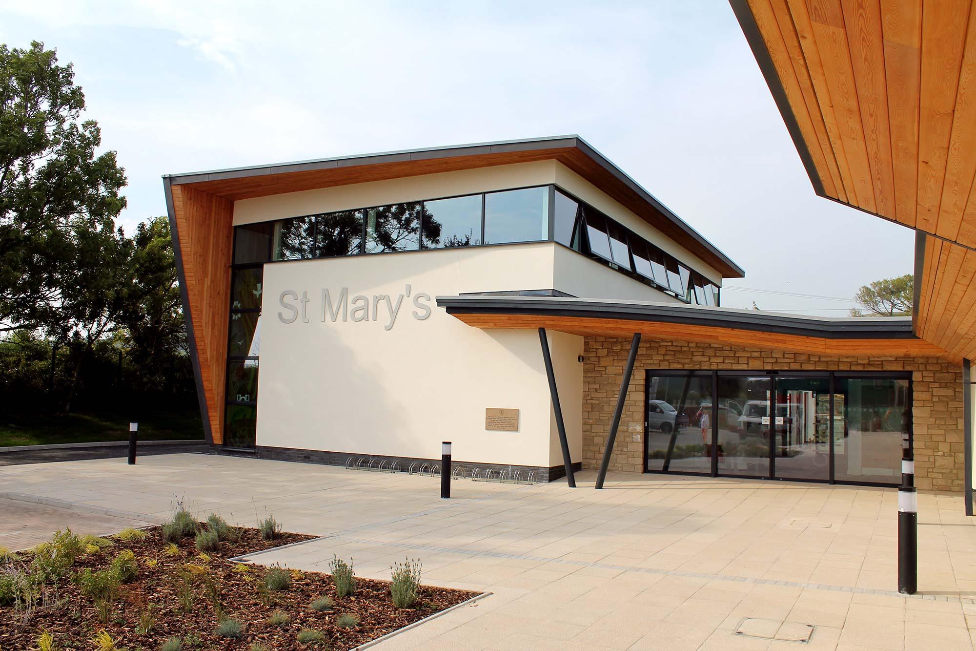 st marys school architecture chaplin farrant wiltshire